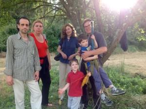 Franco Paolinelli e i piccoli Tarzan